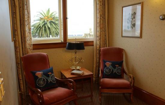 Pacific Grove Inn - Window with Chairs